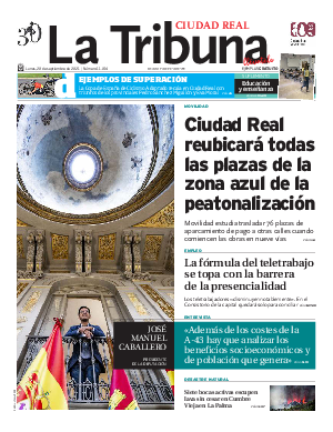 Portada La Tribuna de Ciudad Real